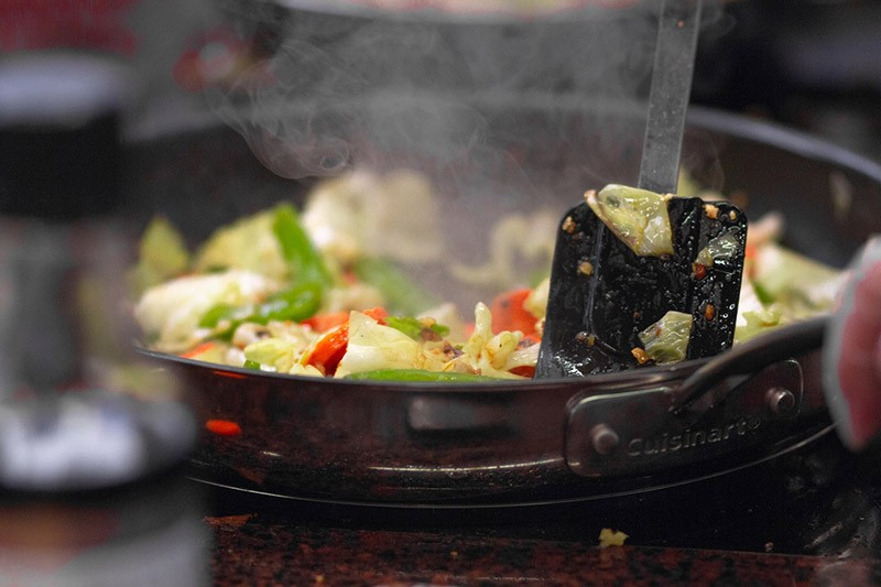 Gemüse nach Weisheitszahn OP Essen - Nahrungsaufnahme