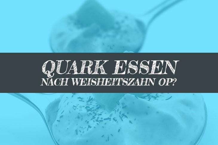 Quark nach Weisheitszahn OP