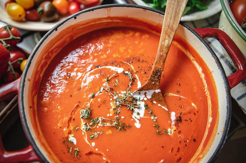 Tomatencreme Suppe Rezept nach Weisheitszahn OP Rezepte